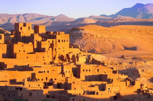 世界第二大沙漠 EOS 70D与金色撒哈拉