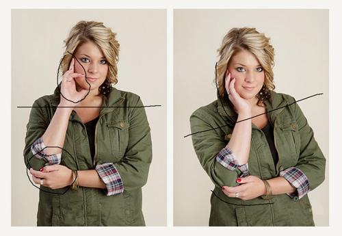 【涨姿势】胖人拍照怎样才好看,pose很重要!
