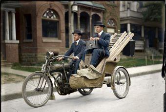 100年前自由摄影师如何外出拍摄