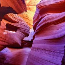 美丽的羚羊峡谷
