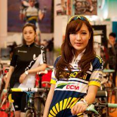 2012上海自行车展车模