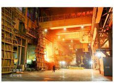 工业摄影:鞍钢夜景