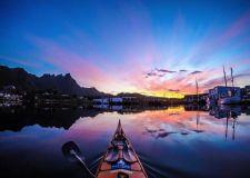 宁静致远 摄影师历时3年拍独木舟上的挪威