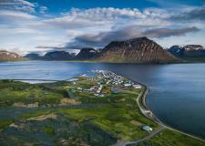 无人机视角下的冰岛绝景
