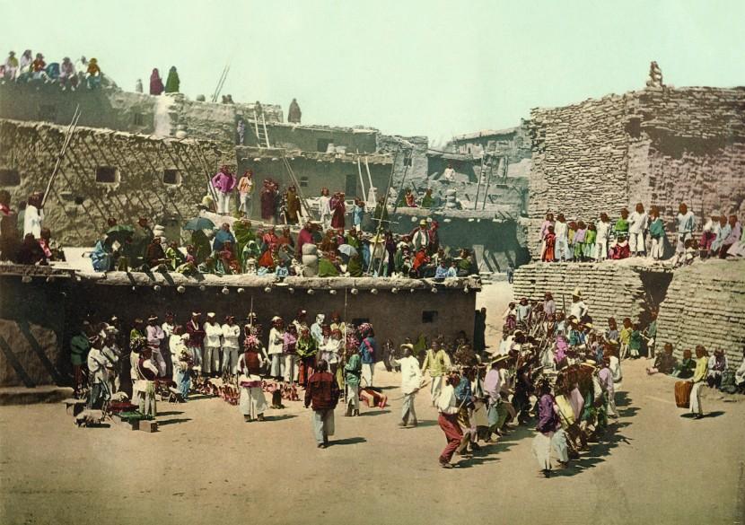 给百多年历史的黑白相片还原色彩!