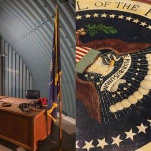 难得一见 美国总统冷战核避难所探秘