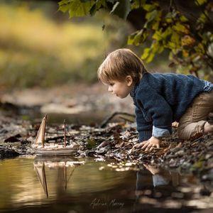 摄影师老爸拍下孩子的纯真童年