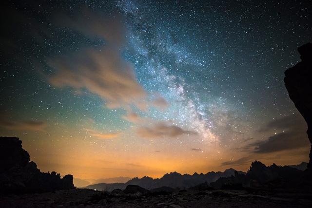 令人屏息的多洛米蒂国家公园